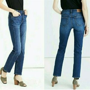Madewell Cruiser Straight Jeans